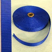 "1"" ROYAL NYLON WEBBING"
