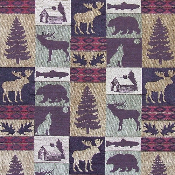 FAIRBANKS WILDLIFE TAPESTRY