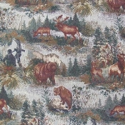 BIG GAME HUNTING TAPESTRY