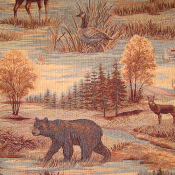 CANADIAN WILDLIFE TAPESTRY