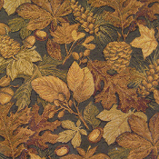 PINECONE AND LEAVES TAPESTRY
