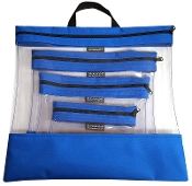 ROYAL 4 PC. SEEYOURSTUFF BAG SET