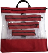 CARDINAL 4 PC. SEEYOURSTUFF BAG SET